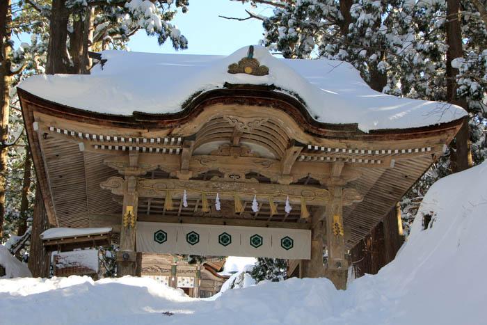 大神山神社神門