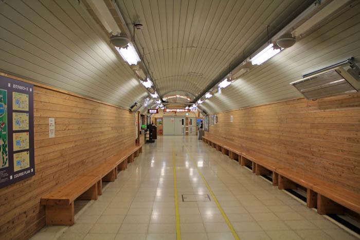 立山黒部関電トンネル黒部ダム駅