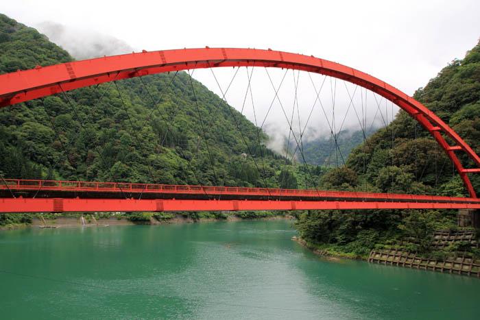 宇奈月ダム湖