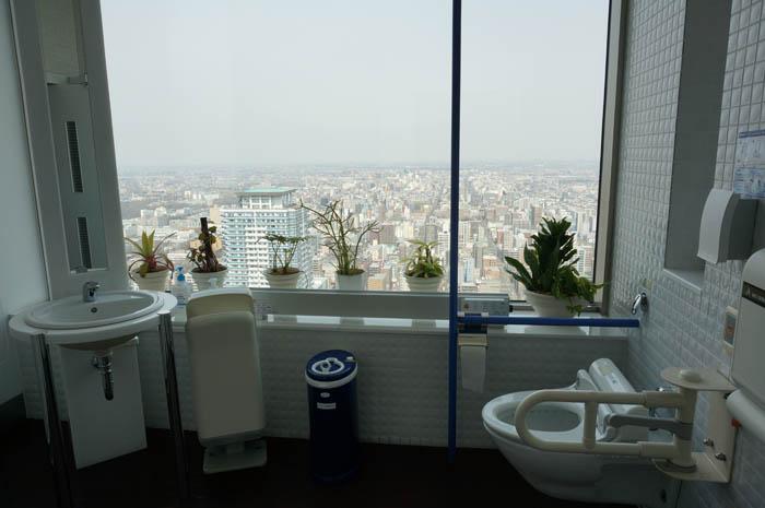 JRタワー展望室トイレ