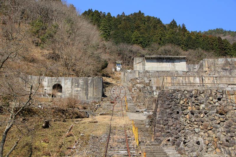 神子畑選鉱所跡インクライン