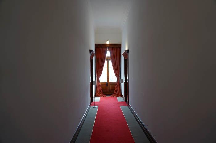 豊平館廊下