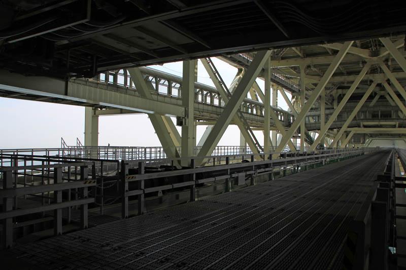 明石海峡大橋管理用通路