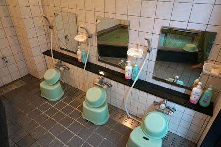 旅館いび浴室
