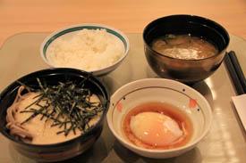 蓼科グランドホテル滝の湯朝食