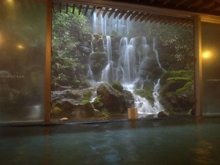 蓼科グランドホテル滝の湯巌の湯