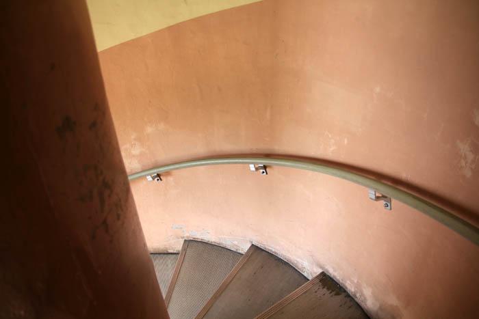大王埼灯台階段