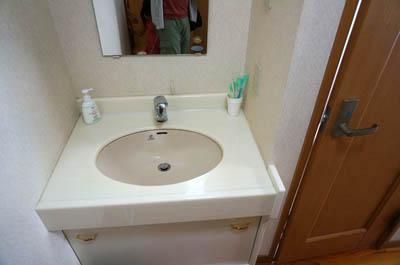 旅館いび洗面所