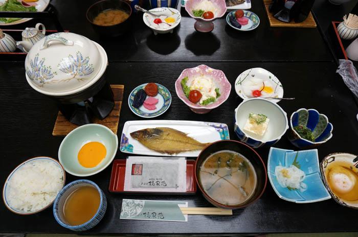 あおき橘風苑朝食