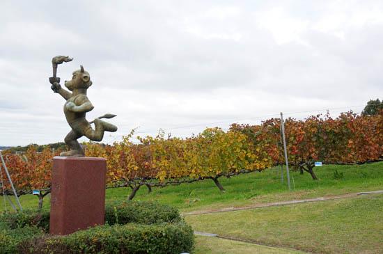 神戸ワイナリーブドウ畑