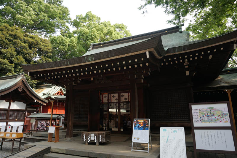 川越氷川神社拝殿