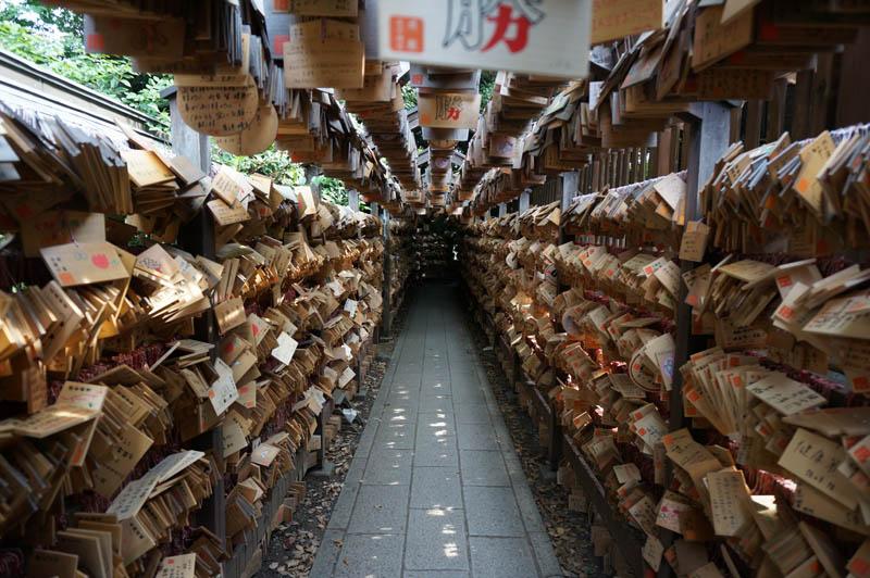 川越氷川神社絵馬トンネル
