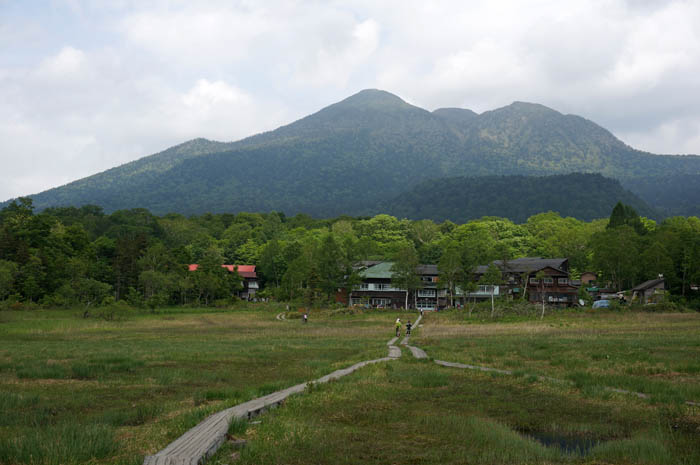 尾瀬ヶ原見晴と燧ヶ岳