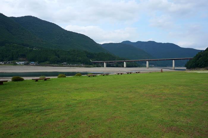道の駅奥熊野古道ほんぐう河川敷