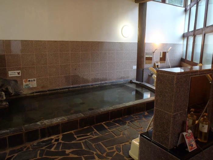 白馬ホテルパイプのけむりお風呂
