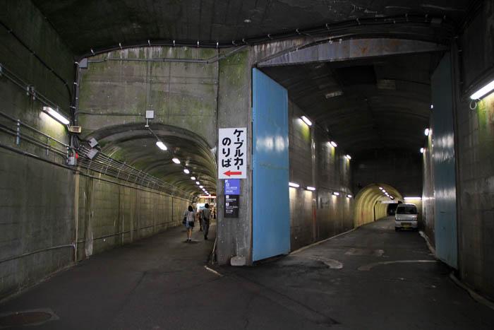 黒部ダム地下トンネル