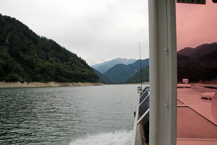 黒部湖遊覧船