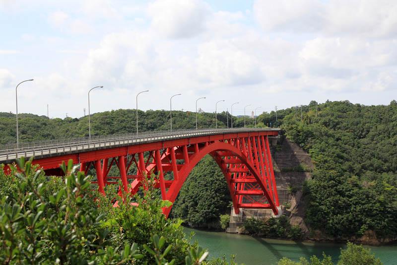 的矢湾大橋