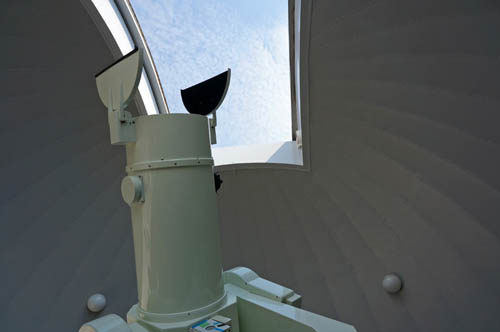 明石市立天文科学館の望遠鏡