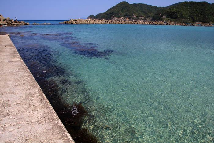 竹野浜堤防