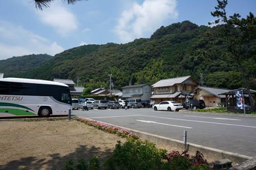 花の窟神社駐車場