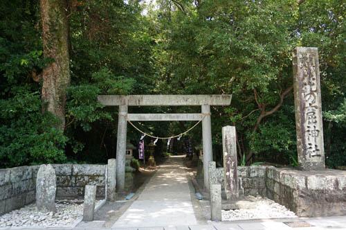 花の窟屋神社鳥居