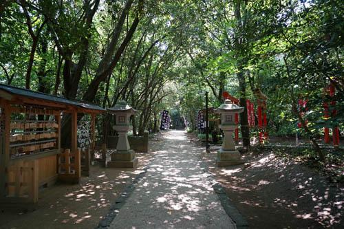 花の窟屋神社参道