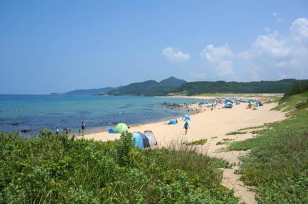 琴引浜海水浴