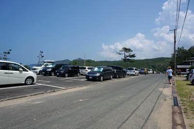 琴引浜駐車場