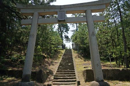 琴引浜白滝神社