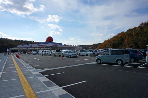 めんたいパーク神戸三田駐車場