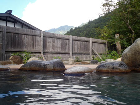 ひらゆの森露天風呂