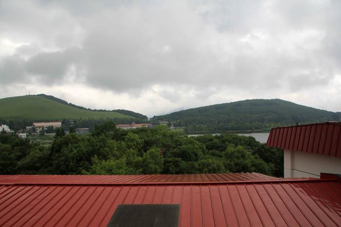 ホテル晴明館からの展望