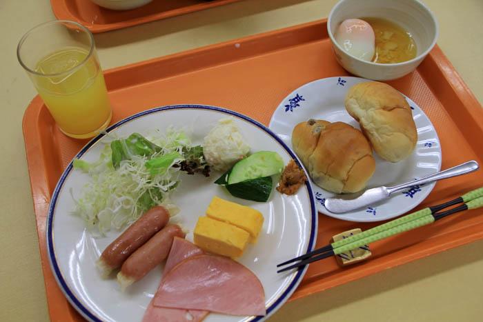 ホテル晴明館朝食ブッフェ