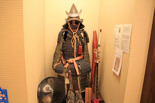 山岸旅館後藤又兵衛の鎧