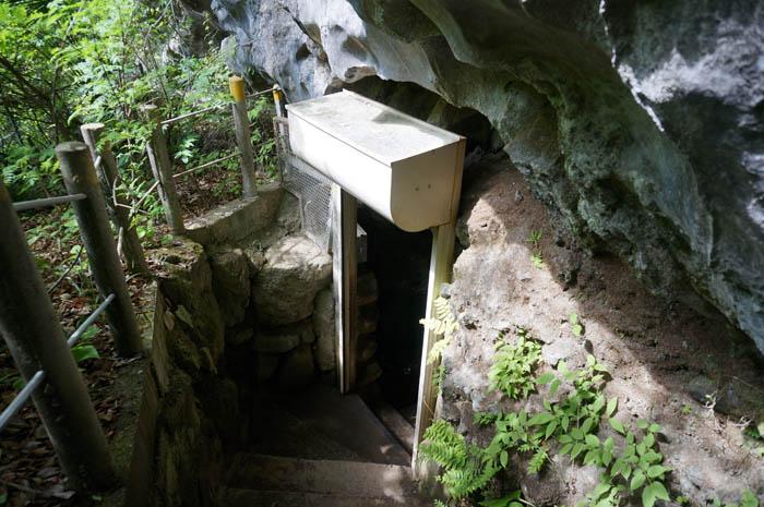 橋立鍾乳洞入口