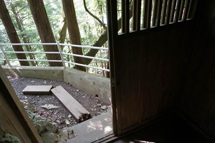 橋立鍾乳洞出口