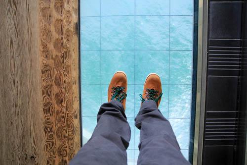 舞子海上プロムナードガラス床