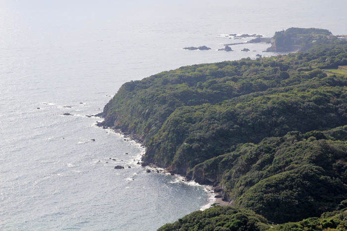 鳥羽展望台からの海の眺め