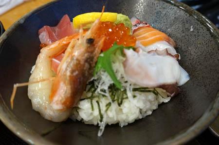 松帆の郷望海楼彩海鮮丼
