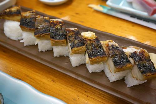 増田屋平磯店焼鯖寿司