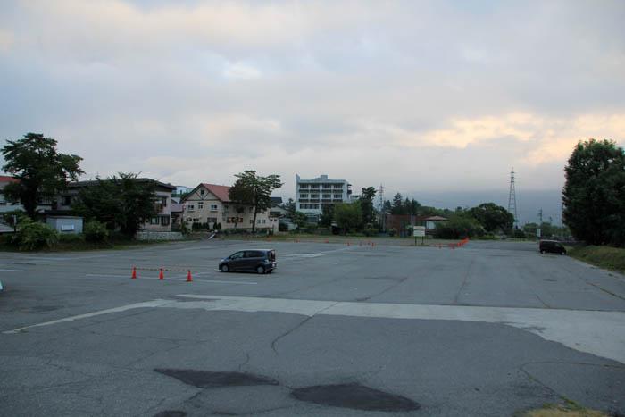 八方観光駐車場