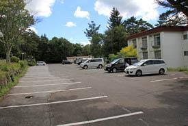 蓼科ふれあい牧場駐車場