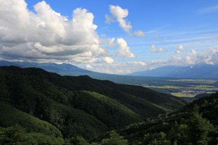 ビーナスラインから望む八ヶ岳