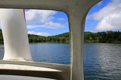 女神湖スワンボート