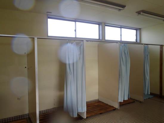 ブルービーチ那智シャワー室