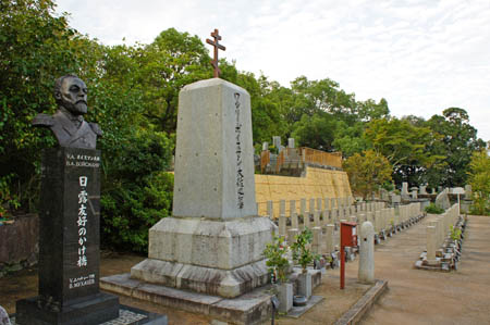 ロシア兵墓地