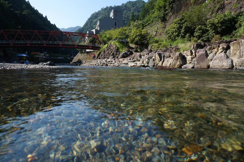 道の駅吉野路上北山の川遊び