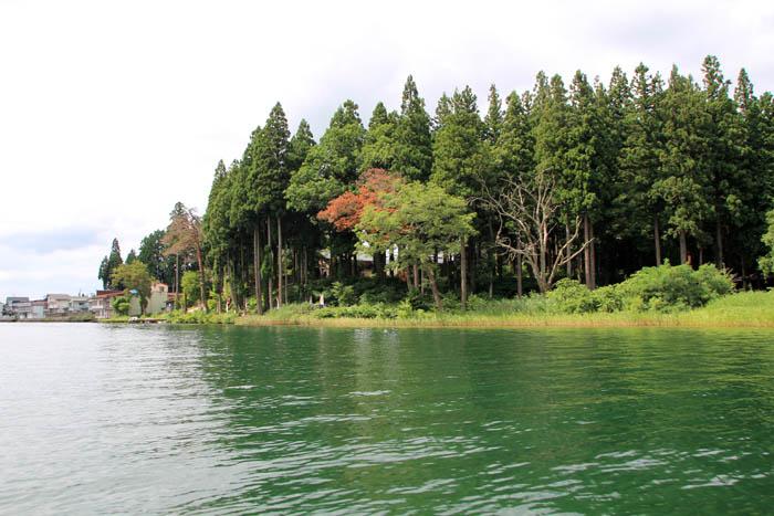 木崎湖仁科神社