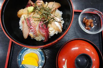 能島水軍レストラン海鮮丼